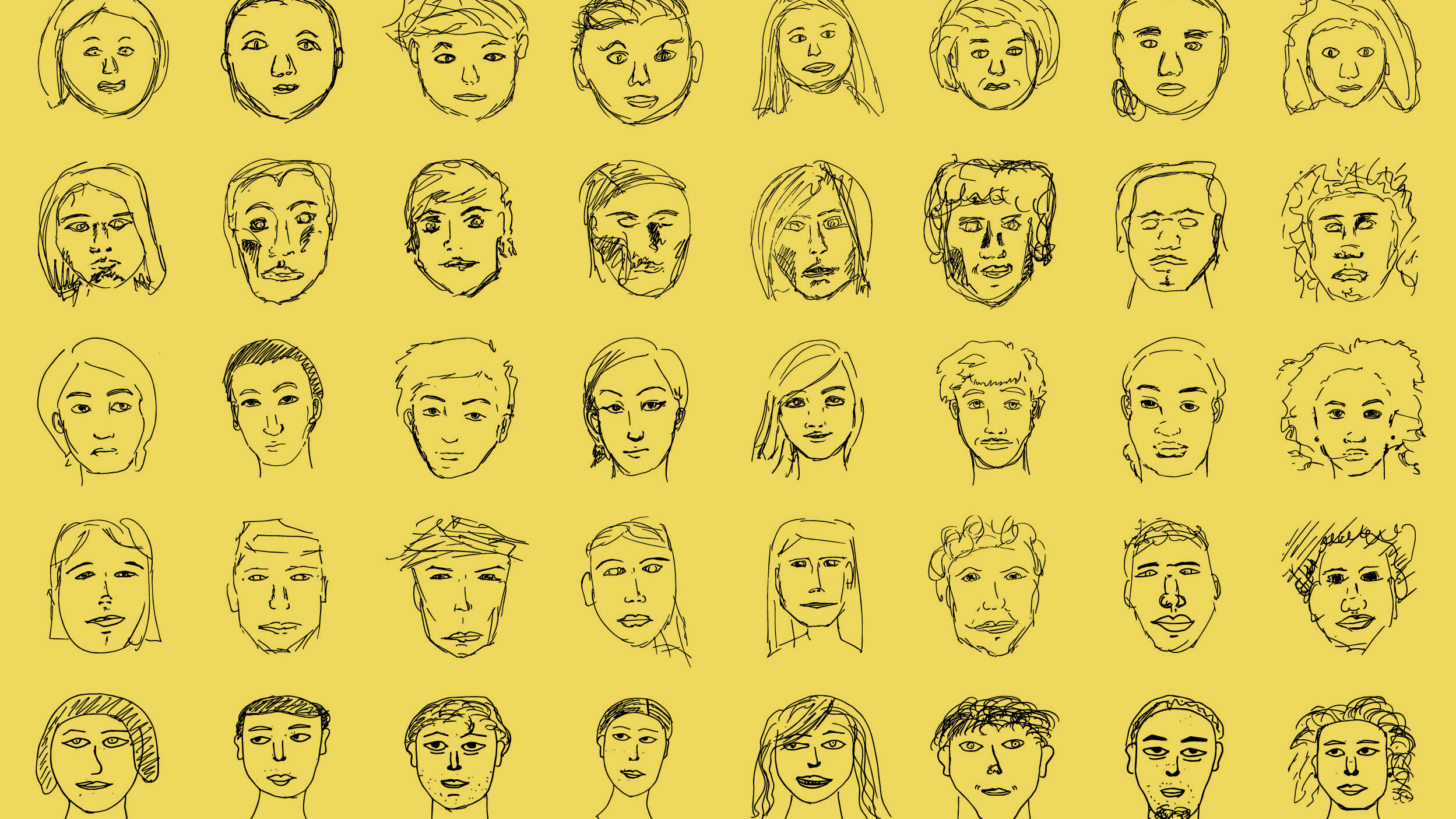 Face2Race: Visual signals in sketching identity with AI